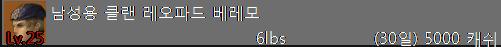 남성용 클랜 레오파드 베레모.PNG