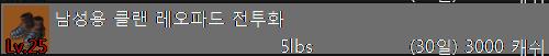 남성용 클랜 레오파드 전투화.PNG